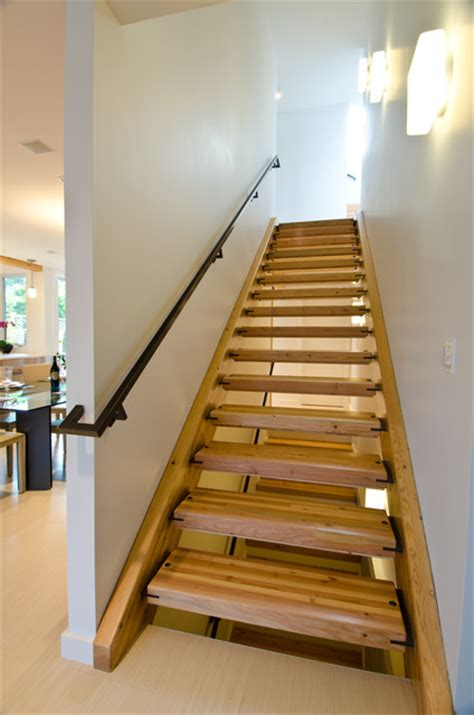 Residential Stairs Design Residence Contemporary Staircase Seattle By Edwards Residential Design