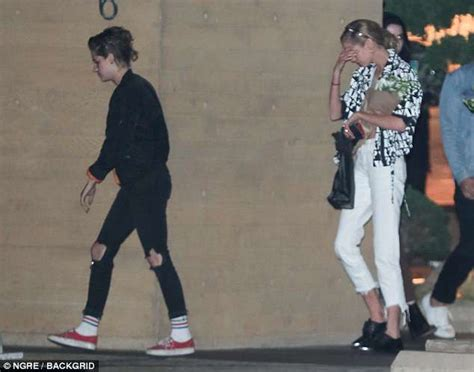 Gfs Alone kristen stewart leaves nobu in with stella maxwell daily mail