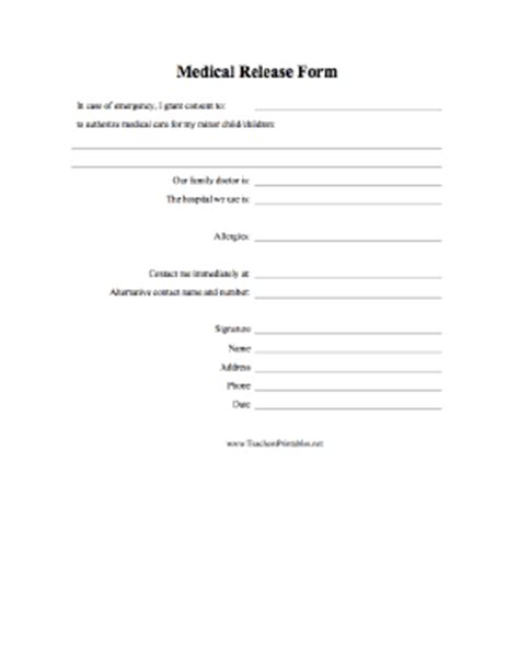 Nanny Release Letter Printable Forms