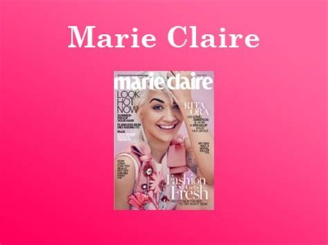 Marie Claire Sweepstakes - marieclaire com winthecoverlook win marie claire the july cover look sweepstakes