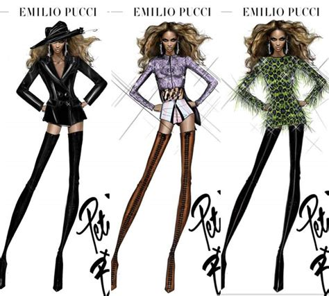 More Cavalli Design Sketches For Spice Tour The Union Is Back by Do Like Beyonce Really Rule The World A Reaction To