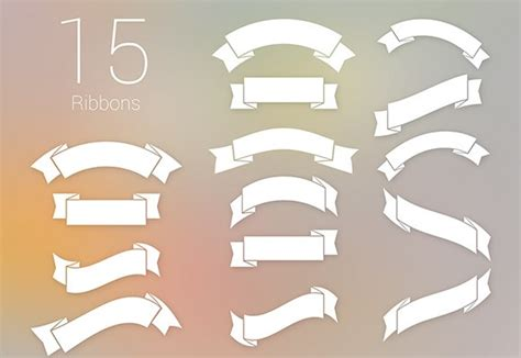 ribbon templates for photoshop 15 free psd ribbons freebiesbug