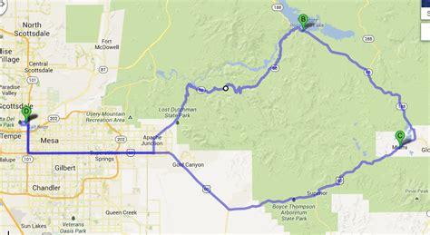 apache trail map ilx sunday drive on the apache trail in arizona drivetofive