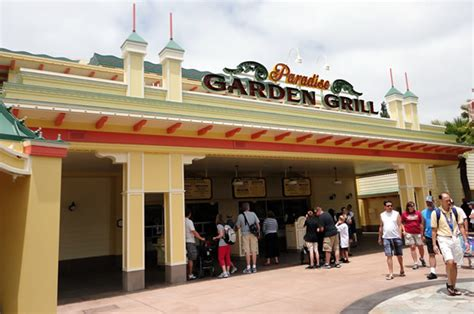 Paradise Garden Grill by Paradise Garden Grill Menu At Disney California Adventure