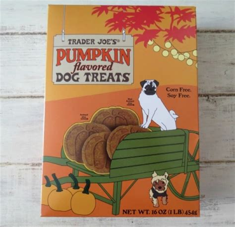 trader joes dogs trader joe s pumpkin flavored treats modern magazine
