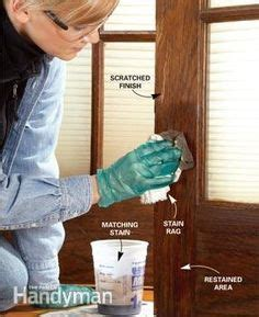 restaining wood trim 1000 ideas about stained trim on pinterest door