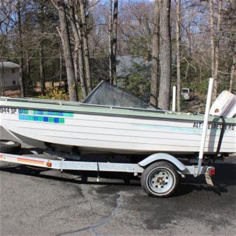 1970 crestliner boat crestliner boat motor and trailer 1970 for sale for 850