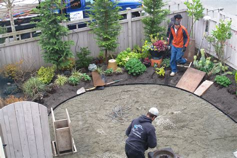 backyard gravel landscaping garden designers roundtable designers home landscapes