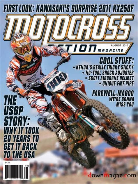 motocross magazine motocross august 2010 187 pdf magazines
