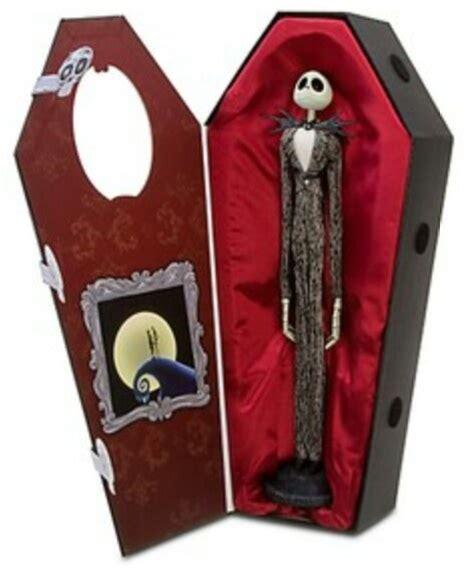 nightmare before christmas jack skellington doll in coffin