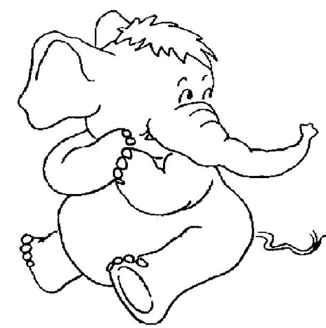 Elephant Coloring Pages Elephant Colouring Page