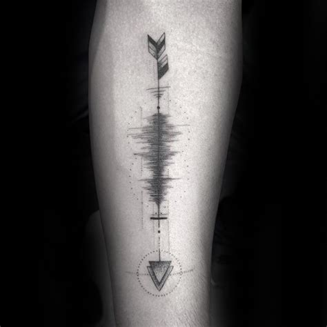 sound wave tattoos 30 soundwave designs for acoustic ink ideas