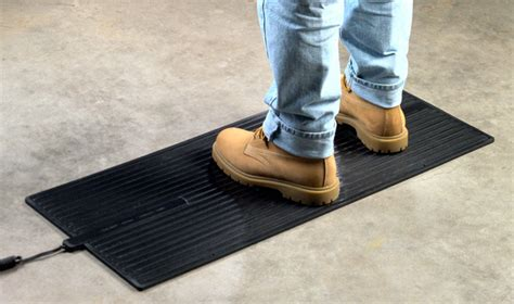 Electric Floor Mats by Heated Floor Mat Heavy Duty Foot Warmer Are Electric