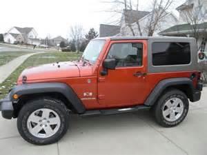 buy used 2009 jeep wrangler x sport utility 2 door 3 8l in