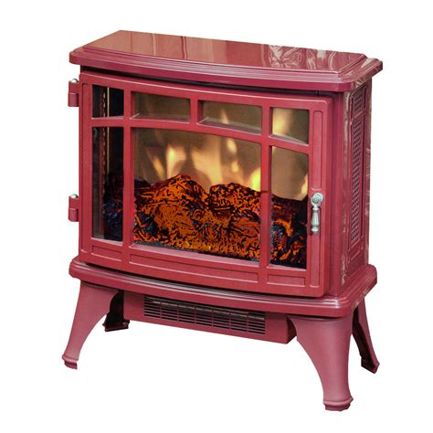 Duraflame Portable Fireplace by Duraflame 8511 Cranberry Infrared Electric Fireplace Stove