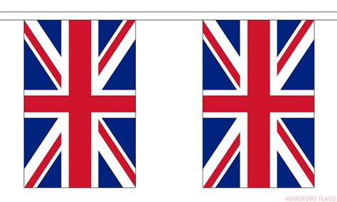 printable union jack bunting flags union jack bunting 3 metres 10 flags