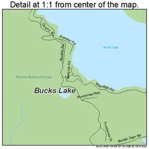 bucks lake california map 0608744