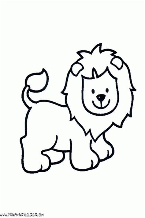 dibujos para colorear de leones actividades infantiles y dibujos de leones 33