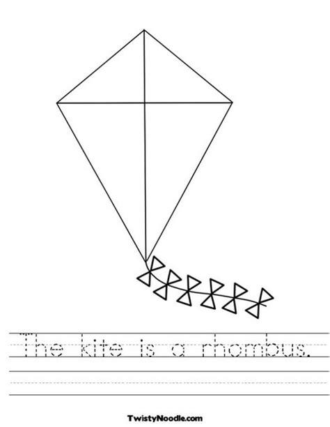 free printable rhombus shapes rhombus worksheet geersc