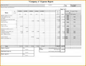 Travel Expense Report Sample Travel Expense Report Sample Www Galleryhip Com The