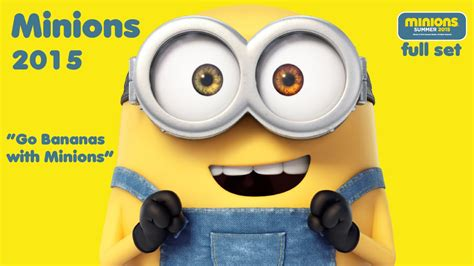 Mainan Happy Meal Mcdonalds Minion 2015 minions happy meal mcdonalds show time