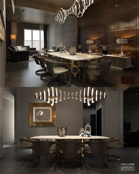 dark dining room take a bite out of 24 modern dining rooms