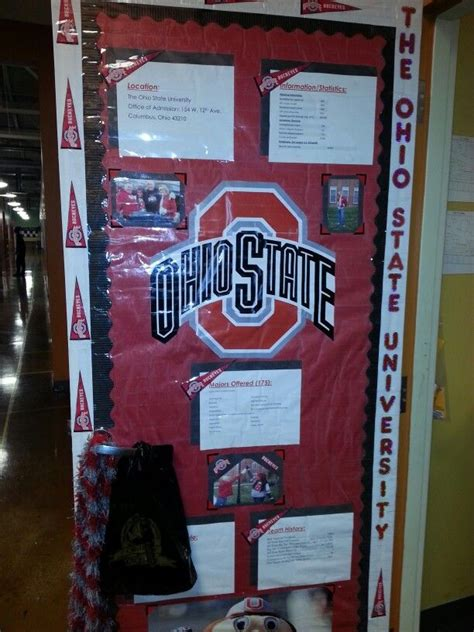 college door college theme pinterest