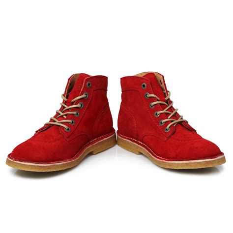 Kickers Shoes 7 kickers kick legend suede mens knee hiigh boots shoes size 7 11 ebay