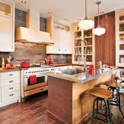 cuisine de style bistro rustique cuisine avant apr 232 s