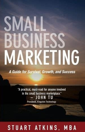 Marketing Research Books For Mba by Small Business Marketing Book In A Read