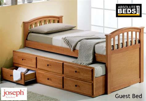 best guest bed joseph guest bed with 3 storage drawers at absolutebeds co uk