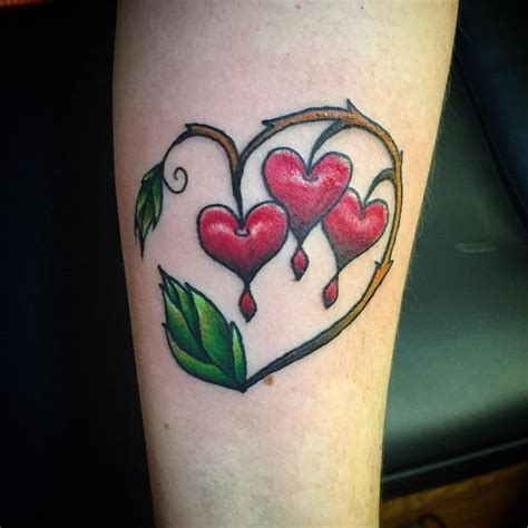 bleeding heart tattoo top 25 best bleeding ideas on