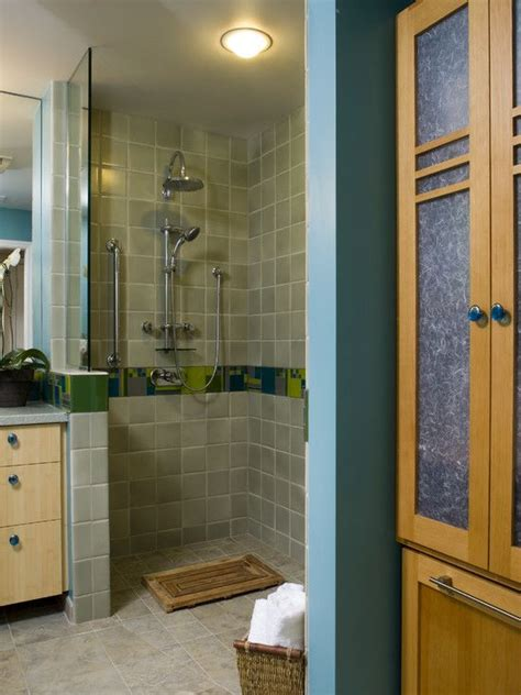doorless shower plans doorless shower design house wishes looks pinterest