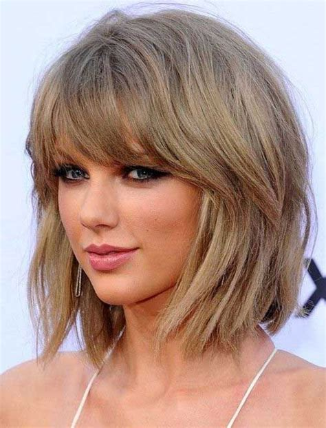 To Medium Hairstyles With Bangs 15 medium hairstyles with bangs 2016 2017 on haircuts