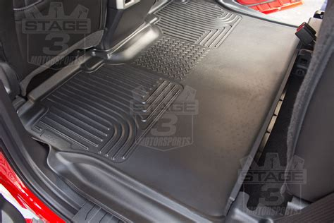 Best Floor Mats For F150 by 2015 2018 F150 Supercrew Husky Liners Weatherbeater 239 191 189