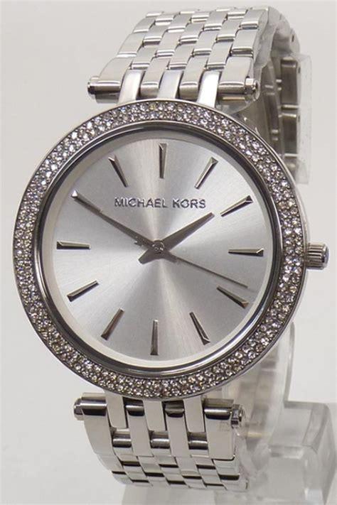 Micheal Kors Uhr by Michael Kors Uhr Uhren Damenuhr Mk3190 Darci Silber Strass