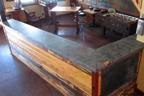 Concrete Bar Top by 1000 Images About Mcgdesigns Bar Tops On Copper Colors And Shades Of Grey
