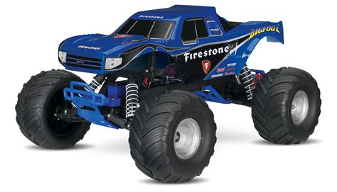 firestone bigfoot monster truck traxxas bigfoot 1 10 rtr monster truck firestone