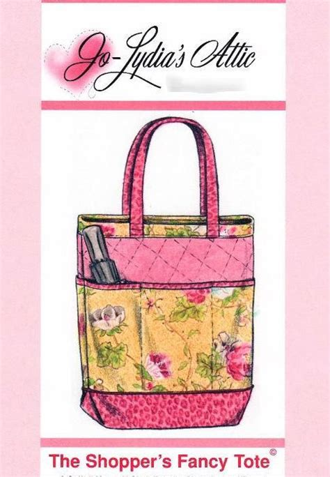 tote bag pattern with outside pockets free pattern double faced quilted fabric is the backdrop