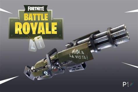 fortnite without guns fortnite 2 4 0 1 40 update adds new minigun weapon