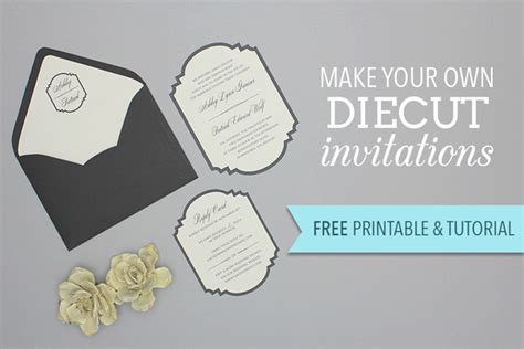 Come With Me Engagement Invites Yumsugar To Die For by Free Printable Die Cut Wedding Invitation The Budget