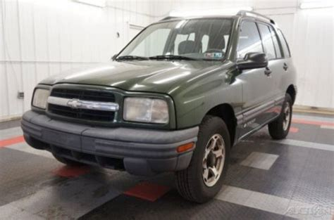 purchase   chevrolet tracker wow  owner wd
