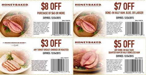 Honey Baked Ham Coupons Printable 2016 honey baked ham printable coupons 2018 ebay deals ph