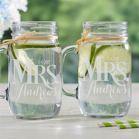 Wedding Gift Jars personalized wedding gift ideas for same couples
