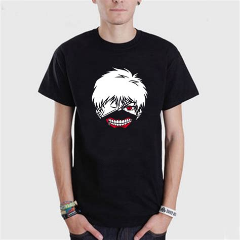 T Ghoul tokyo ghoul t shirts casual sleeve t shirts o