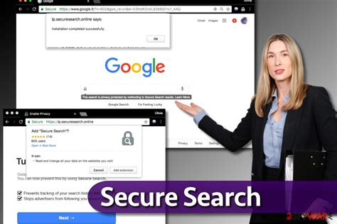 Secure Search Remove Secure Search Virus Free Guide Chrome Firefox