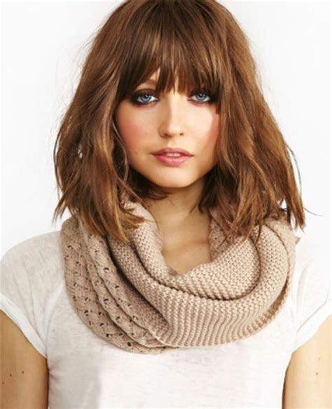 Medium Length Hairstyles For 30 by 30 Fringe Hairstyles For Medium Length Hair Hairstyles