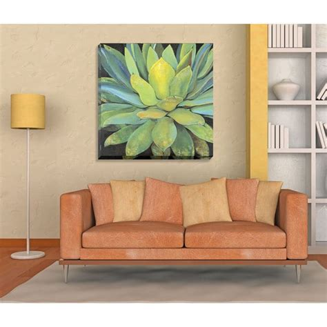 oversized wall art portfolio canvas decor agave large printed canvas wall