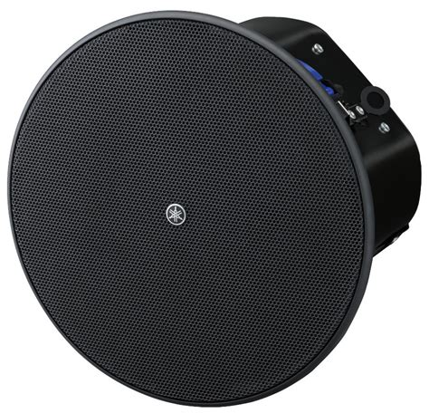 8 Ohm Ceiling Speakers by Yamaha Vxc6 6 8 Ohm 70v Ceiling Speaker In Black