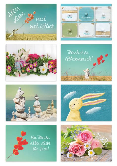 Verschiedene Postkarten Drucken by 8 St 252 Ck Postkarten Set F 252 R Verschiedene Anl 228 Sse 14 8 X 10